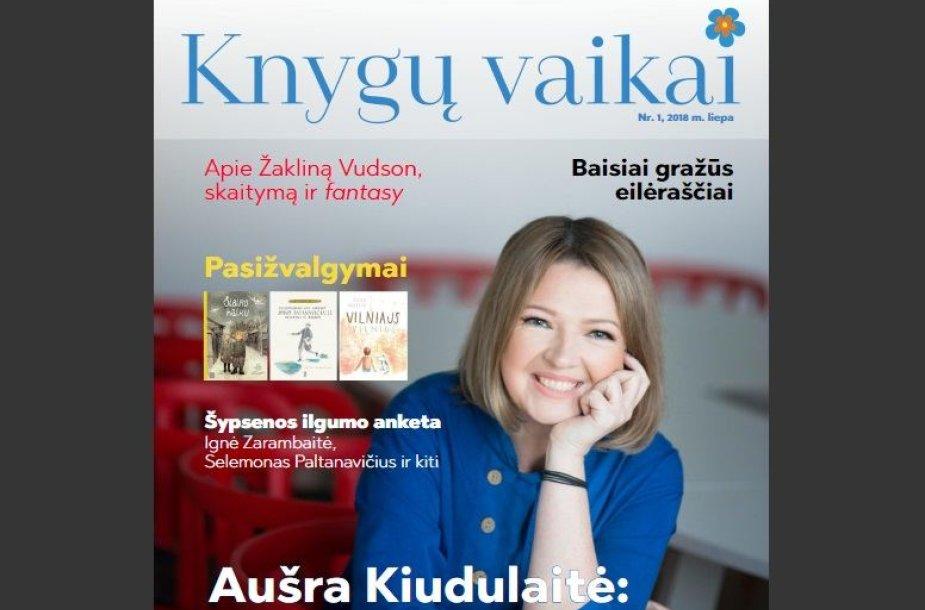 """Žurnalo """"Knygų vaikai"""" viršelis"""