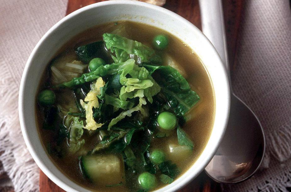 Pavasariška daržovių sriuba