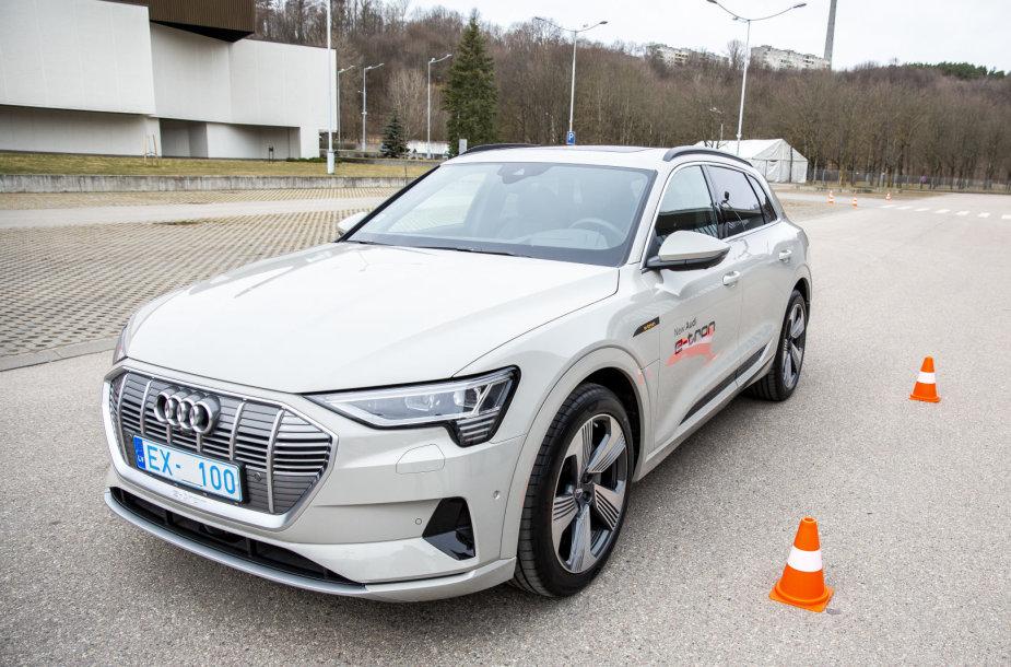 """Audi e-tron"" pristatymas Vilniuje"