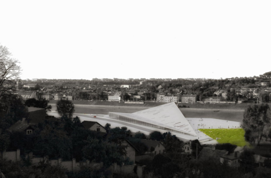 Kauno kongreso, koncertų ir konferencijų rūmai (vizualizacija)