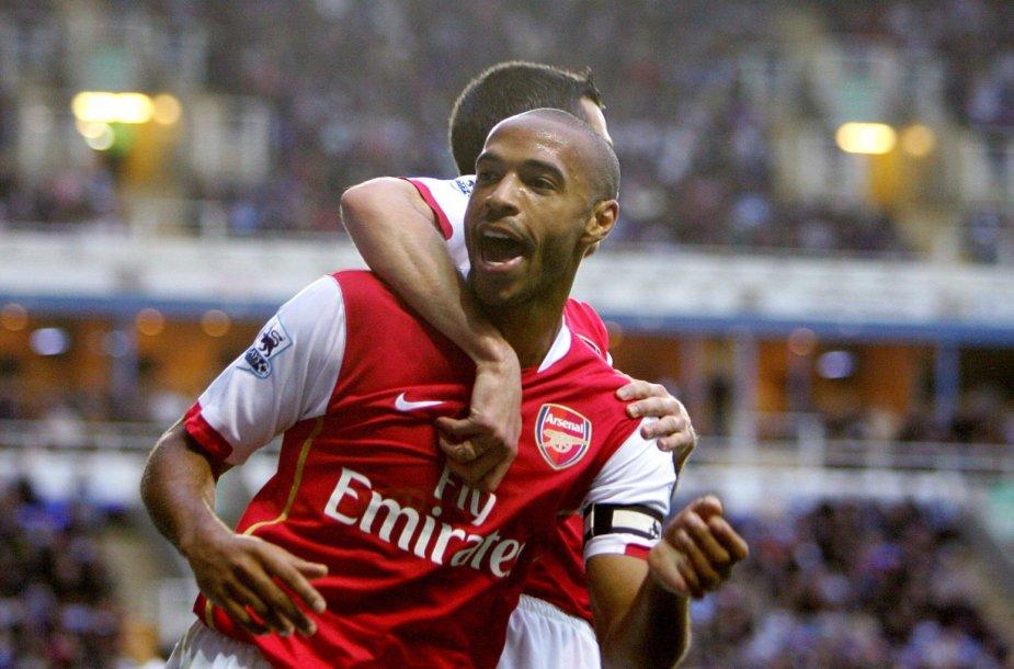 "Thierry Henry – ""Arsenal"" legenda"