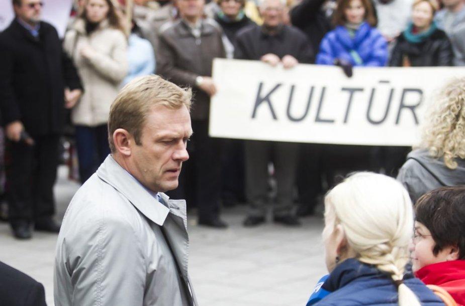 Kultūros ministras Šarūnas Birutis