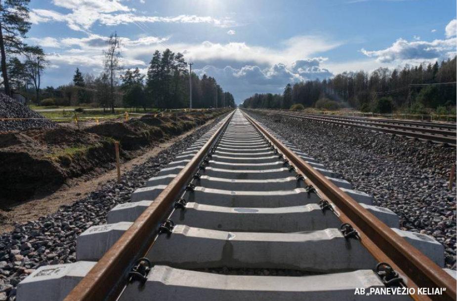 Iki šių metų pabaigos europinės vėžės geležinkelis sujungs Lenkijos-Lietuvos sieną ir Kauną.