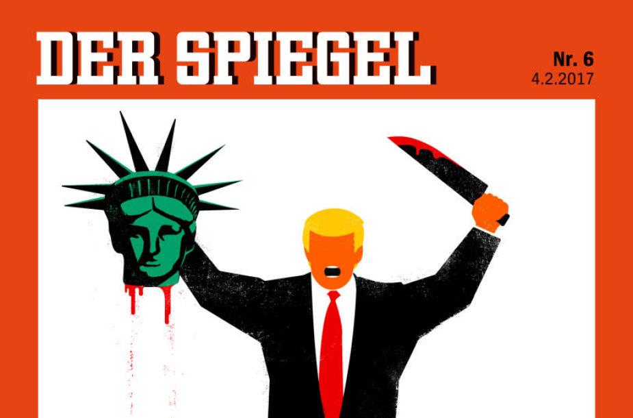 """""""Der Spiegel"""" viršelis"""