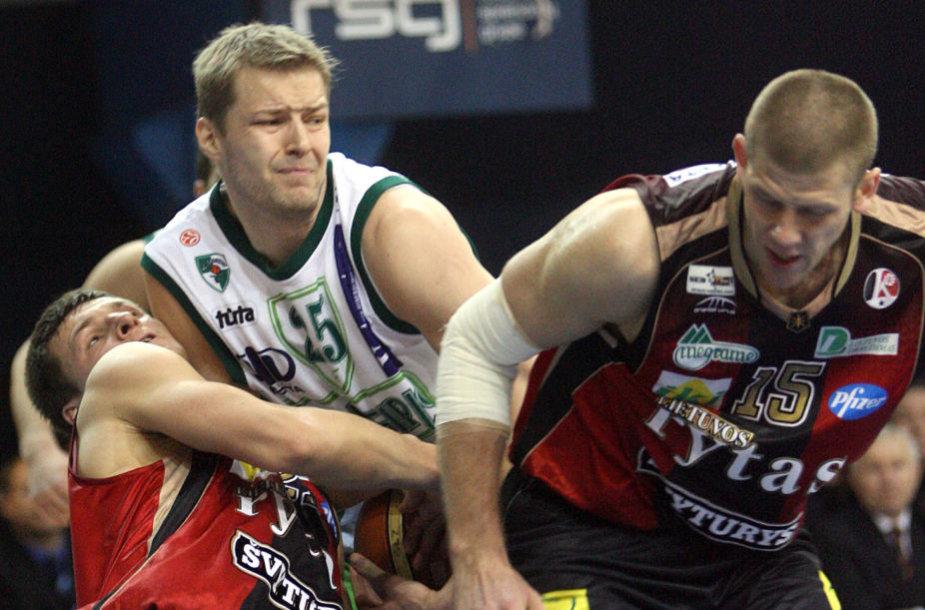 """Hanno Mottola yra žaidęs Kauno """"Žalgirio"""" klube 2006-2007 m. sezoną."""