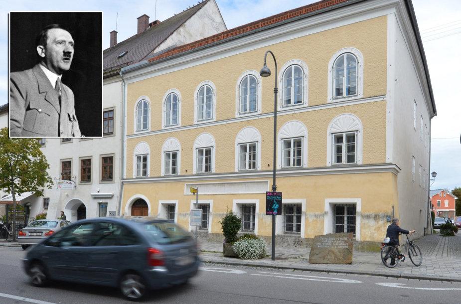 Pastatas, kuriame savo ankstyvąją vaikystę praleido nacių diktatorius Adolfas Hitleris.