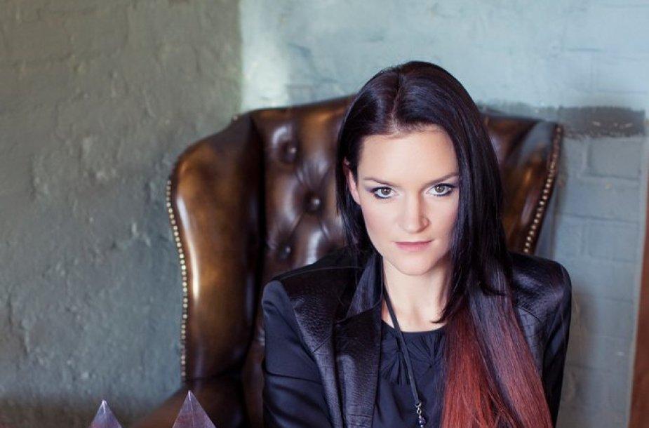 Vaida Urbaitė su 2014 metu apdovanojimais