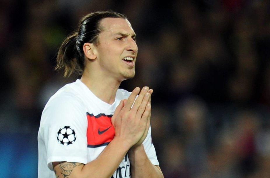 Zlatanas Ibrahimovičius.