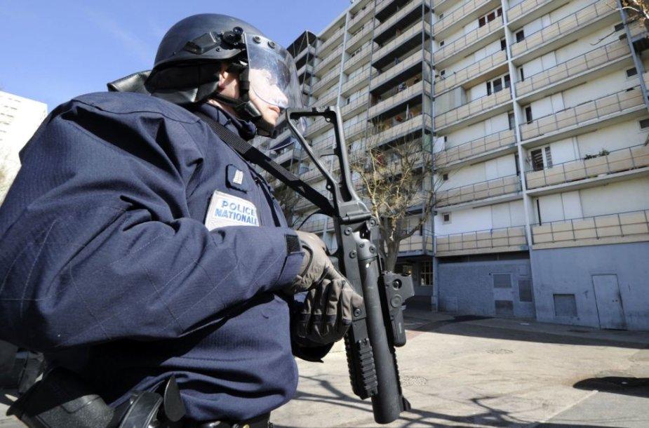 Prancūzijos policininkas