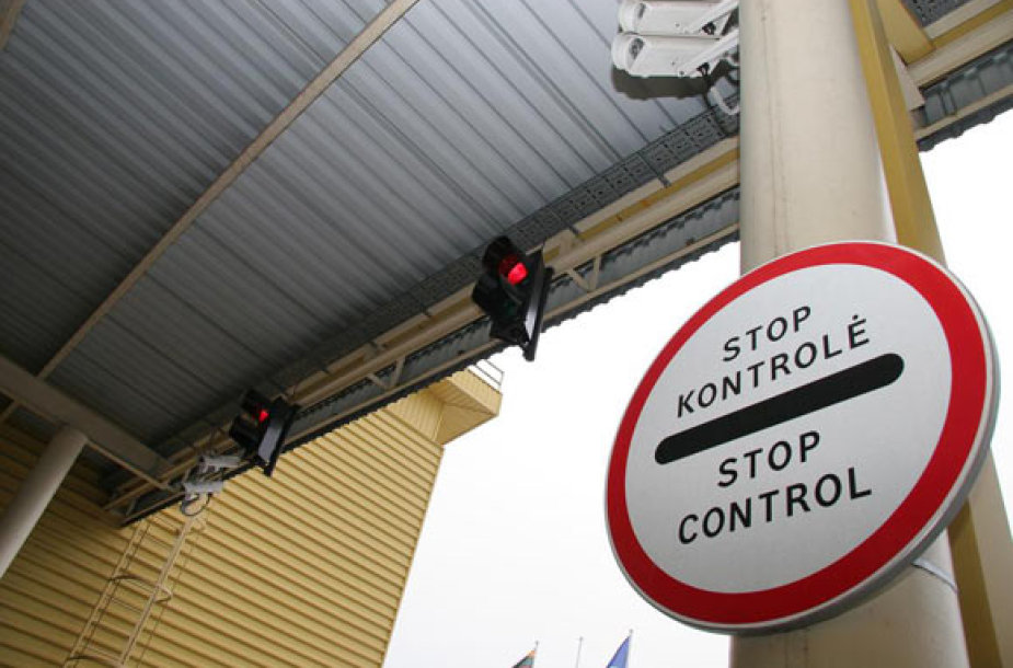 Stop. Kontrolė