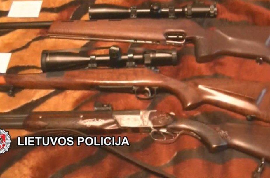 Klaipėdoje išaiškinta nelegaliai veikusi ginklų taisykla.
