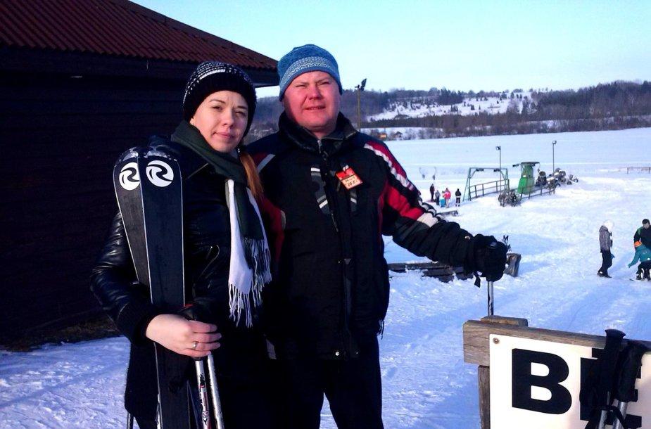 Tatjanos įspūdžiai iš slidinėjimo trasų