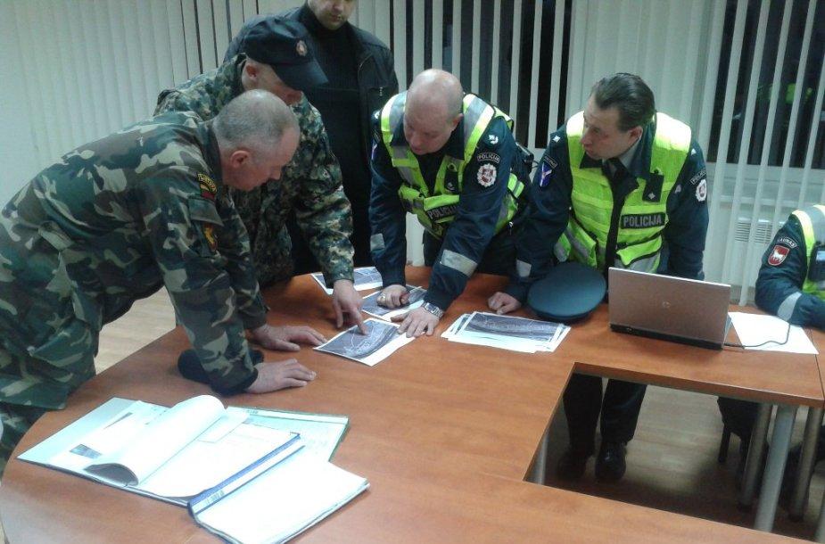 Zapyškio seniūnijos patalpose buvo sudarytas 12-mečio kauniečio paieškos organizavimo štabas