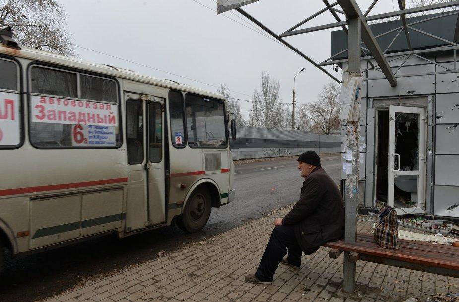 Gyvenimas karo nuniokotame Donecke