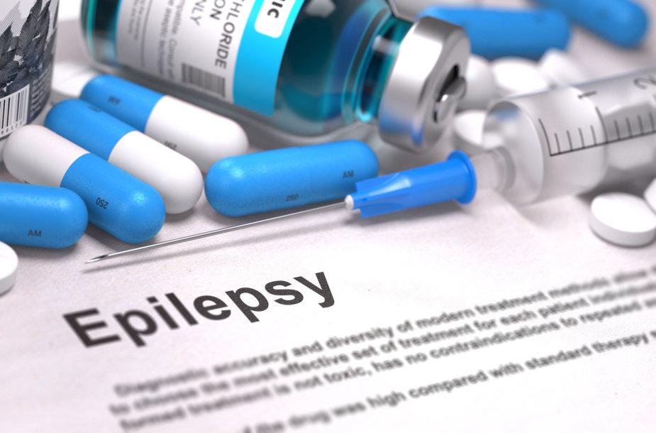 Diagnozė – epilepsija.