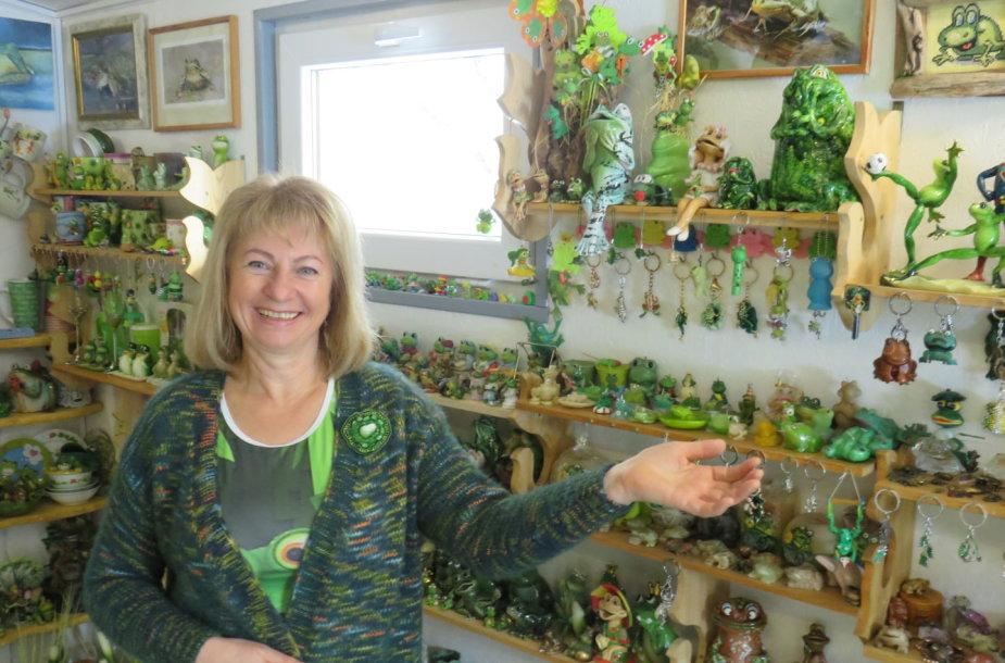 Redos Pečiulienės-Šilingės rekordinė varlių kolekcija