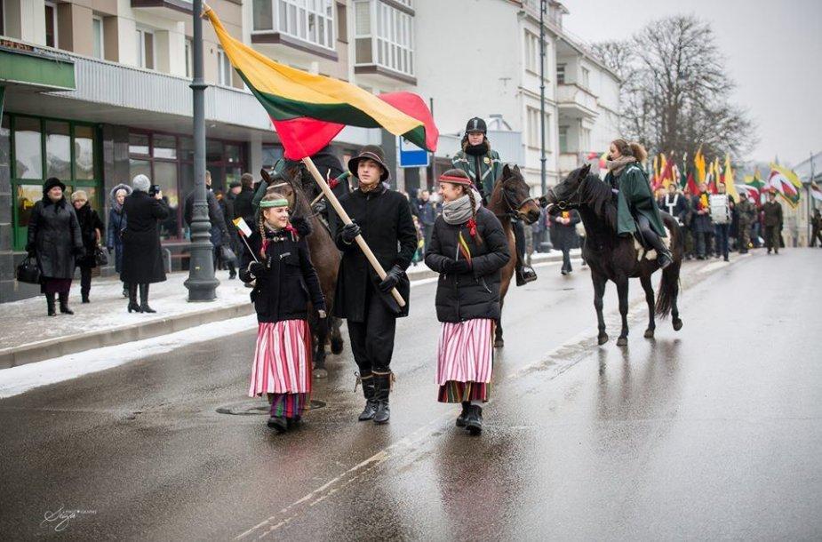 Telšiuose iškilmingai paminėtas Atkurtos Lietuvos šimtmetis
