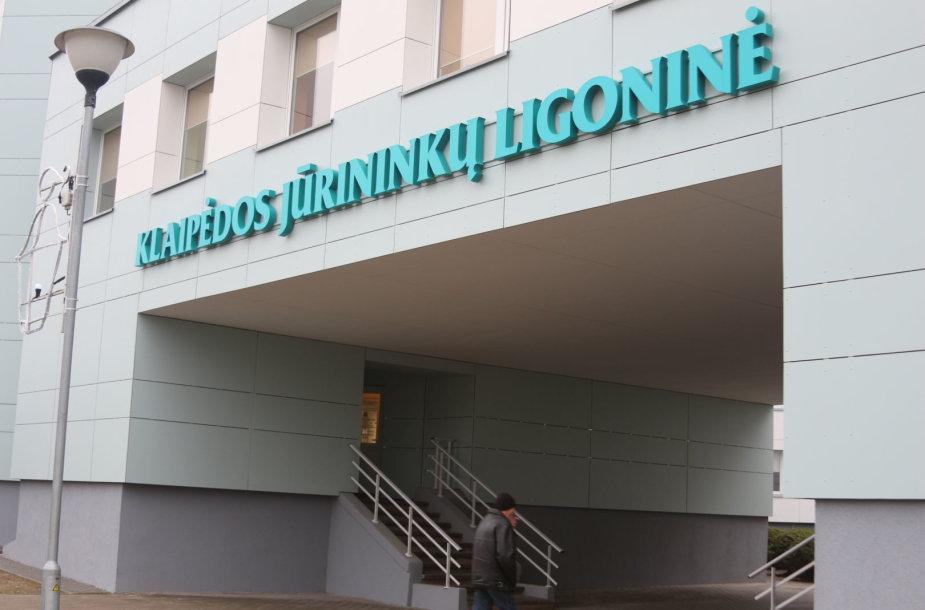 Klaipėdos Jūrininkų ligoninėje lankosi FNTT pareigūnai.