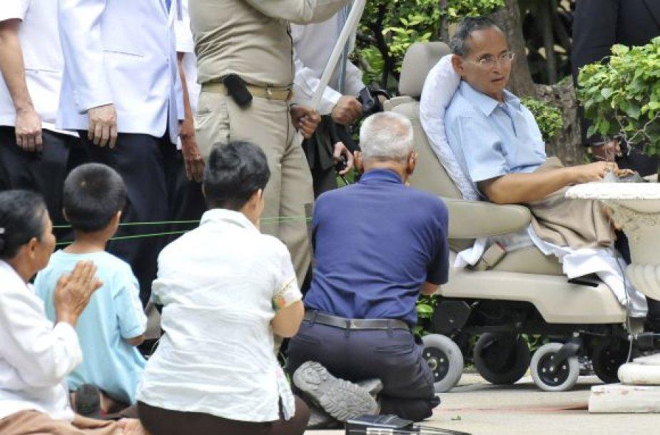 Tailando karalius Bhumibol Adulyadej