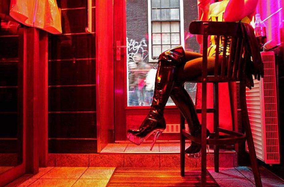 Visame pasaulyje sekso verslas šiuo metu išgyvena ne pačius geriausius laikus.