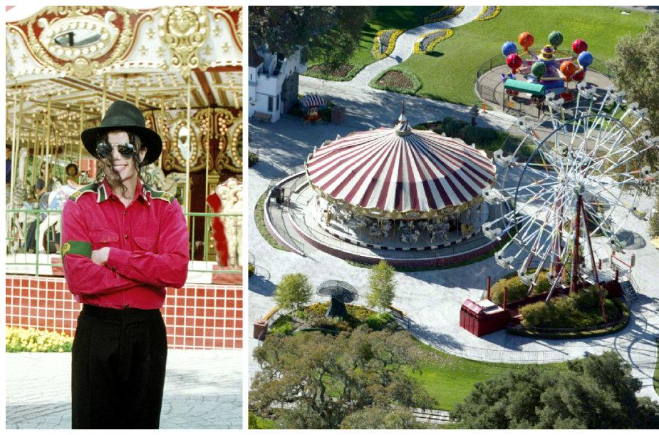 "Parduodama garsioji Michaelo Jacksono ranča ""Neverland"""