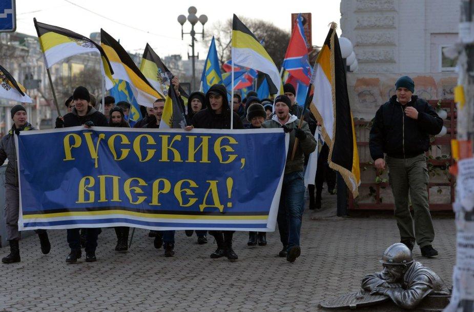 """""""Rusų maršo"""" dalyviai"""
