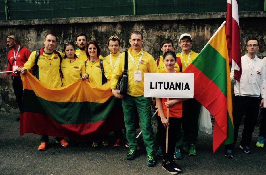 Lietuvos ultramaratono rinktinė Italijoje