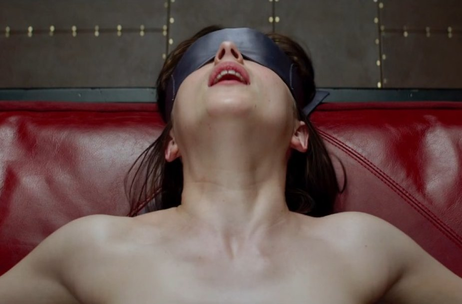 """Dakota Johnson filme """"Penkiasdešimt pilkų atspalvių"""""""