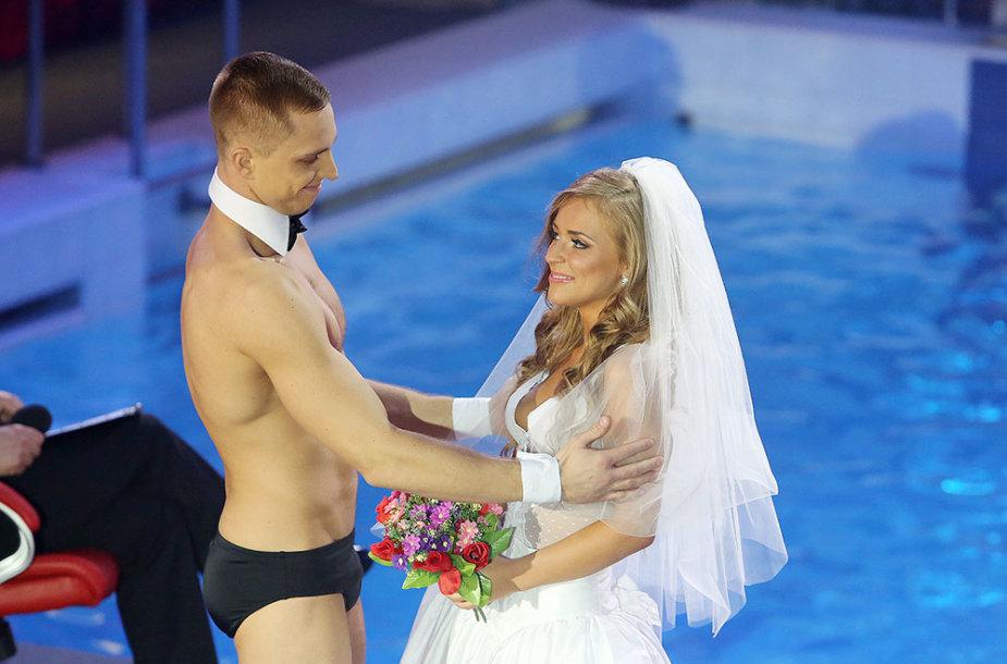 Ignas Barkauskas ir Monika Šalčiūtė