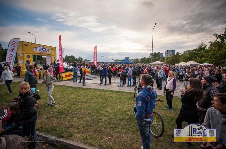 """""""DHL Rally Elektrėnai"""" pramogos"""