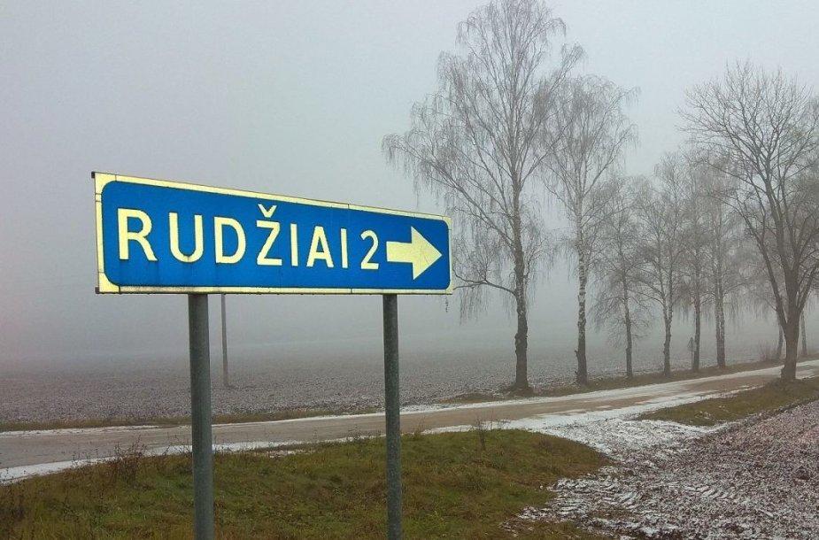 Rajoninio kelio Lančiūnava–Rudžiai atkarpą buvo žadėta sutvarkyti dar šiemet, tačiau darbai buvo atidėti