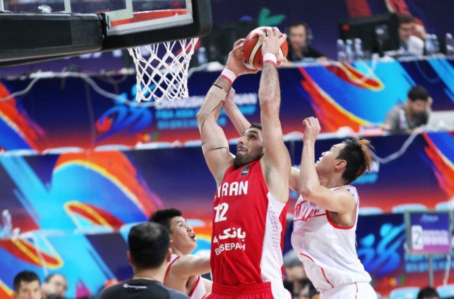 Irano krepšinio rinktinė