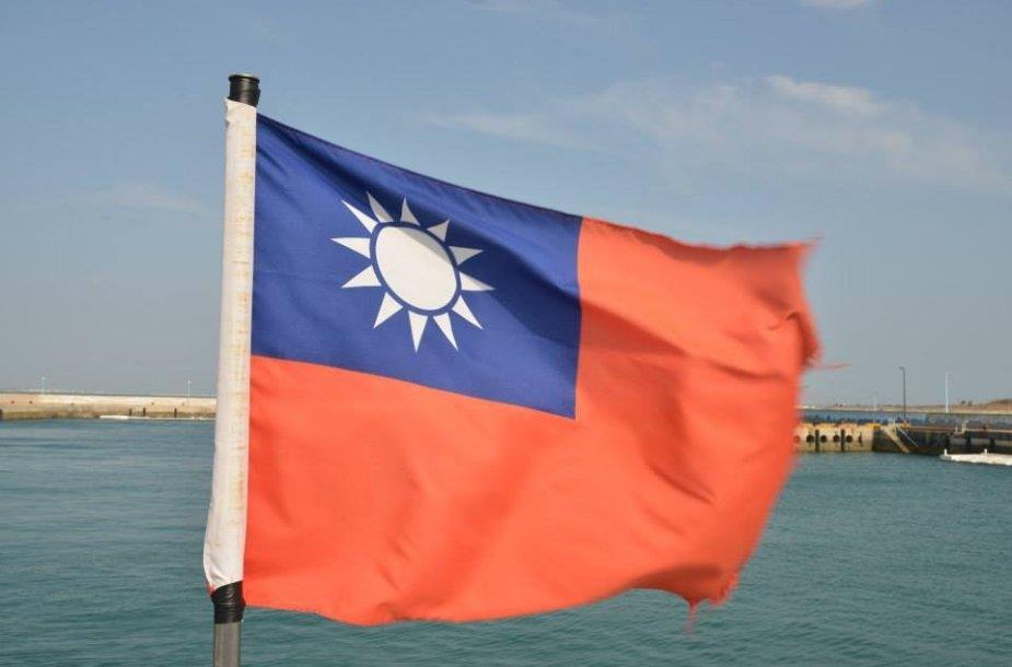 Taivano vėliava.