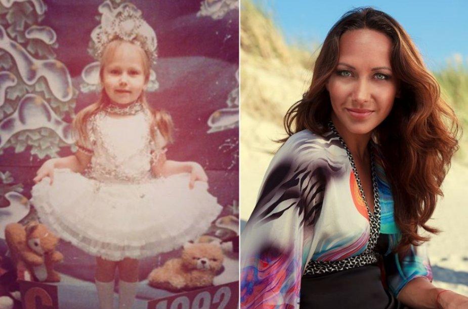 Veronika Gordijevskaja vaikystėje ir dabar