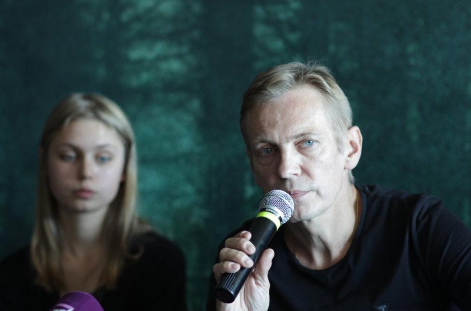 Šarūnas Bartas, Ina Marija Bartaitė