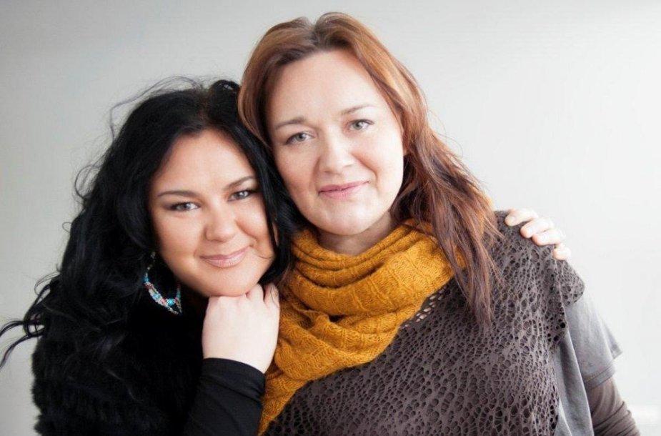 Rosita Čivilytė su dukra Agneta