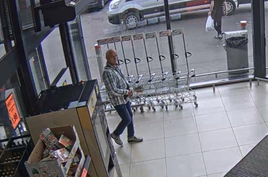 Kauno policijos ieškomas žmogus piniginės vagystės tyrime