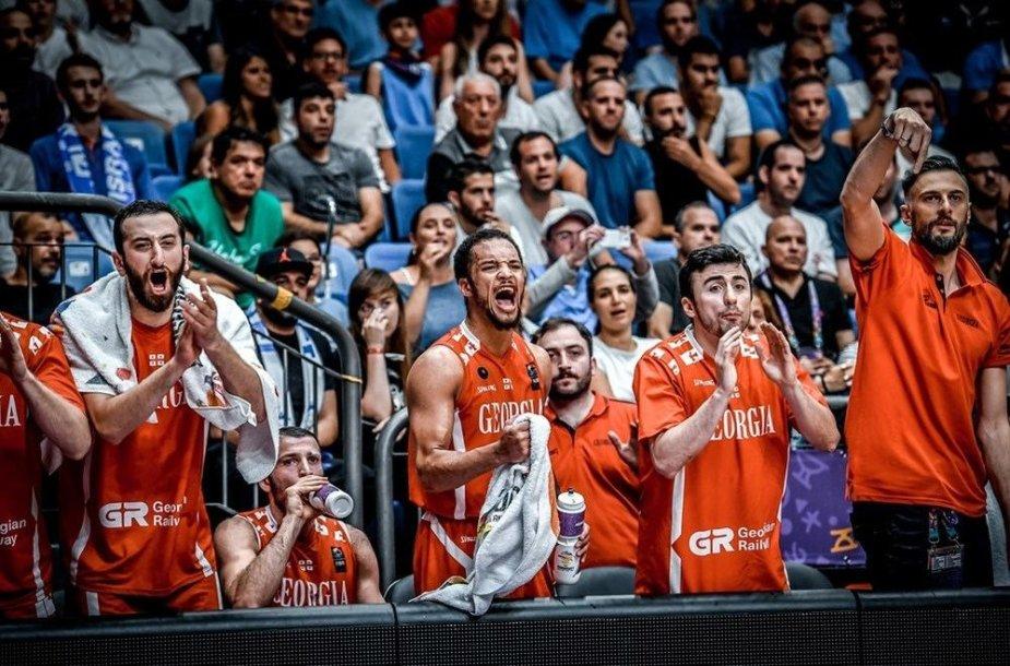 Gruzijos krepšinio rinktinė