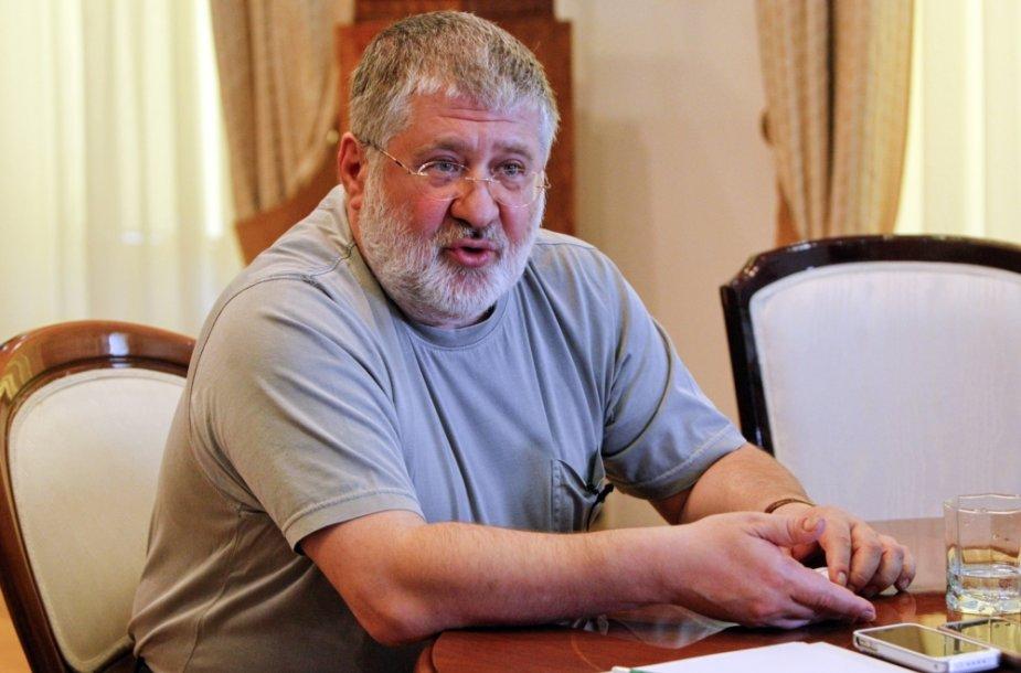 Dnipropetrovsko gubernatorius Igoris Kolomoiskis