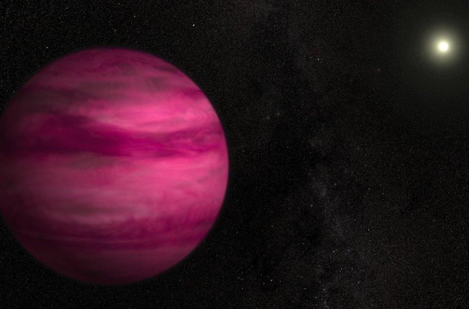"Rožinė egzoplaneta ""GJ 504b"""