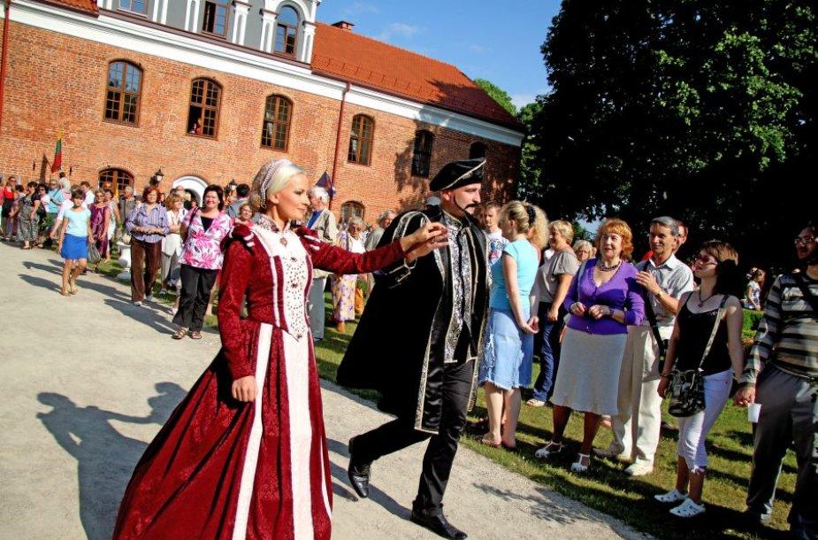 lKelis ES projektus įgyvendinęs Raudondvario dvaras sulaukia vis daugiau lankytojų