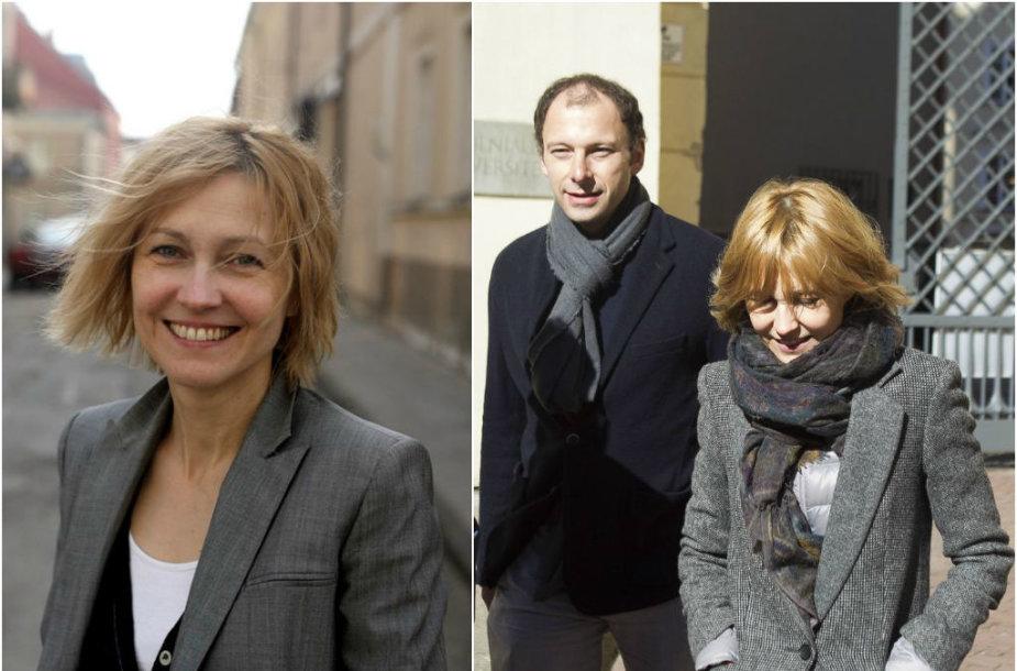 Ingeborga Dapkūnaitė ir Dmitrijus Jampolskis