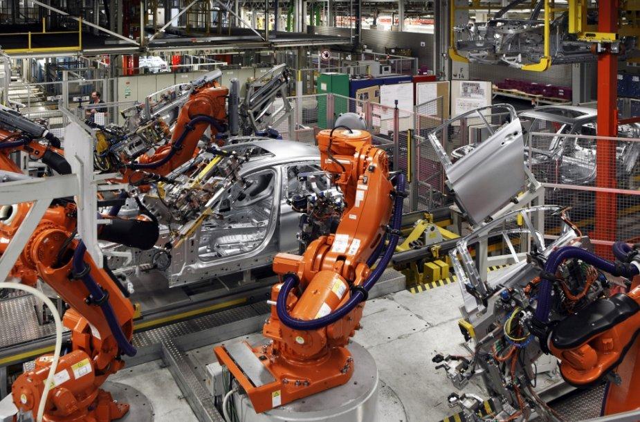 BMW automobilių gamykla Miunchene