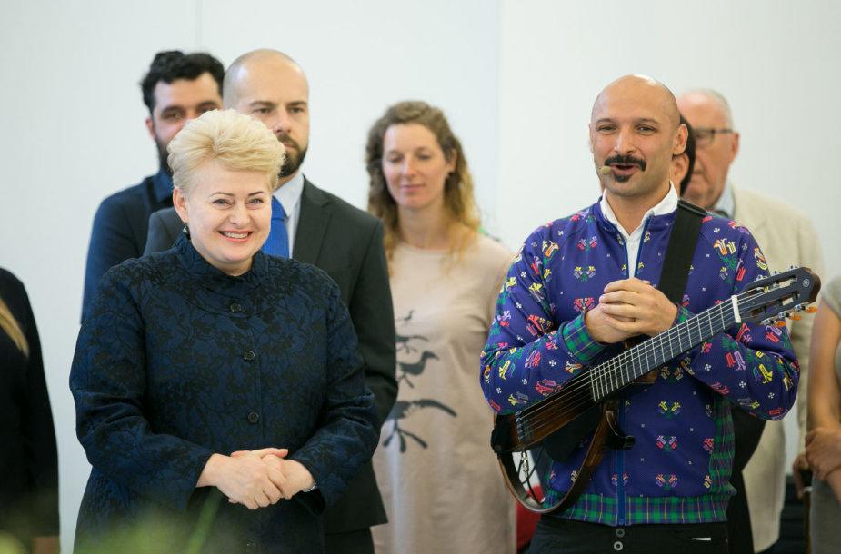 Dalia Grybauskaitė ir Jurgis Didžiulis