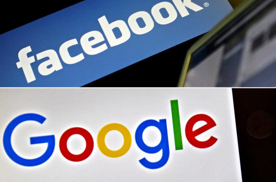 """Facebook"", ""Google"""