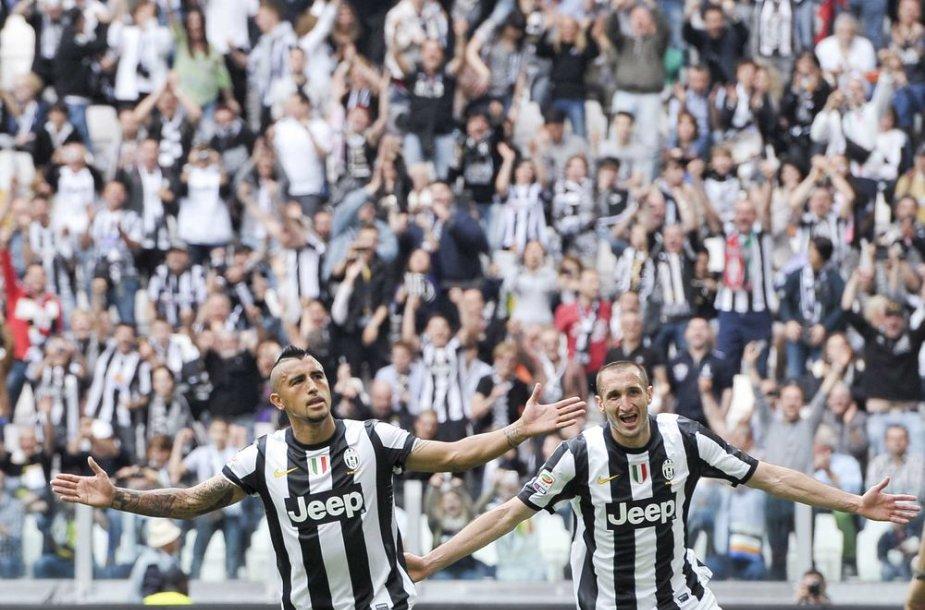"""Turino """"Juventus"""" tapo Italijos čempionu"""