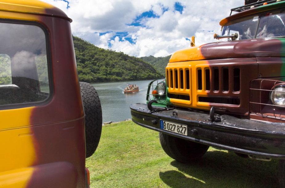 Prie Hanabaniljos ežero - ruošiamės kelionei per Moską