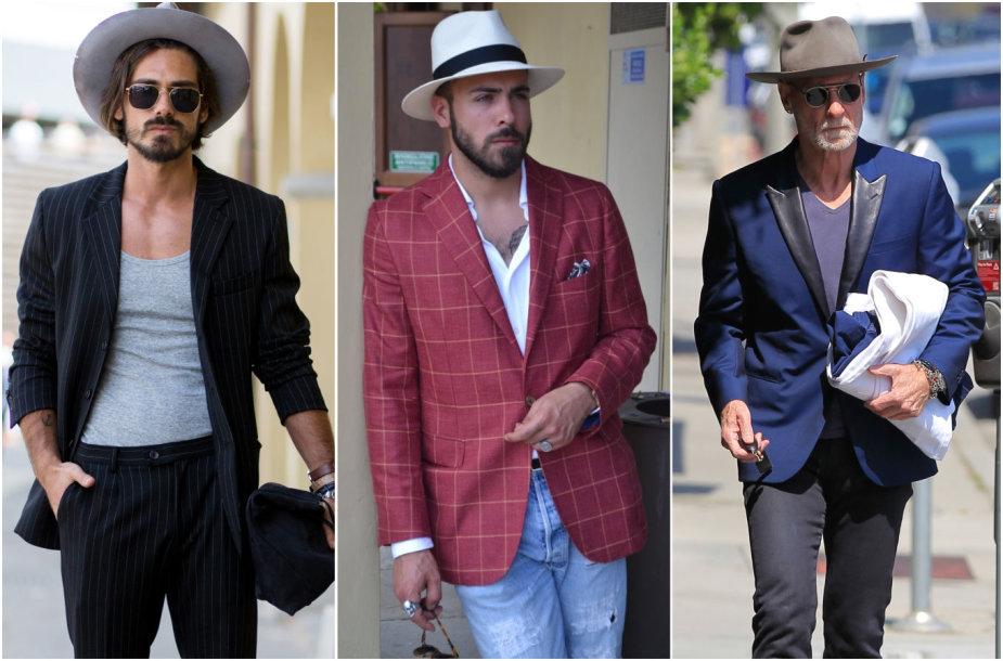 Vyrų stilius: švarkai