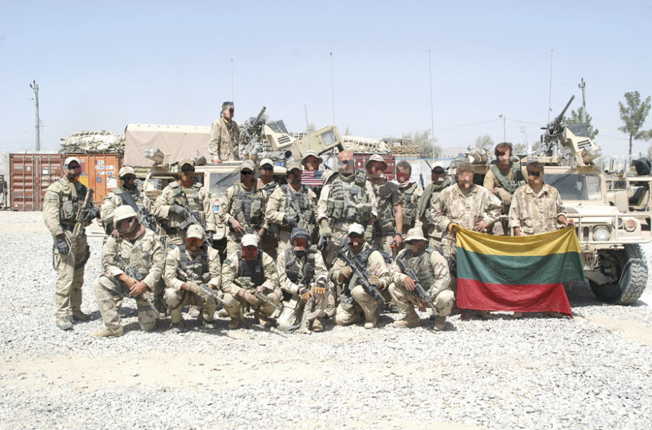 """""""Aitvaras"""" Afganistane"""