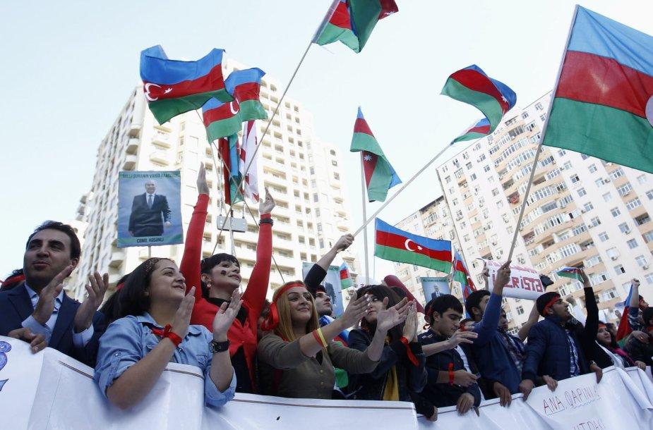 Protesto akcija Baku